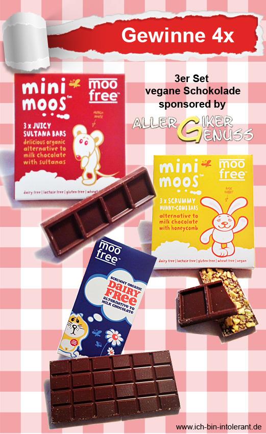 vegane Schokolade von moofree